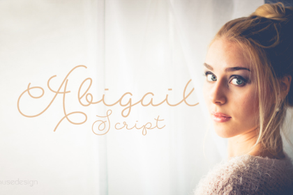 Abigail Script Free Typeface