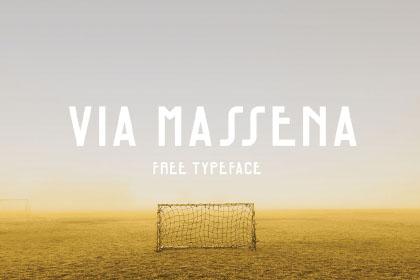 Via Massena Free Typeface