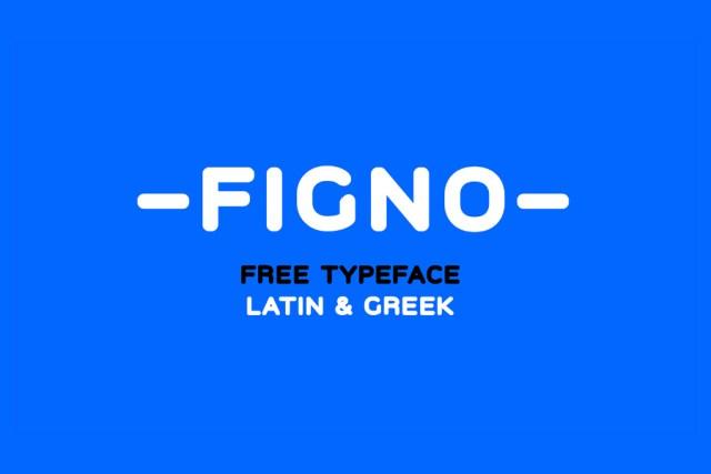 Figno Sans Free Typeface