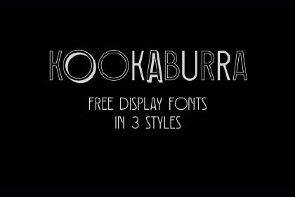 Kookaburra Free Font Family