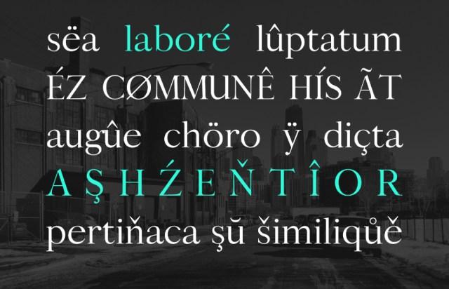 Bludhaven Serif Free Typeface