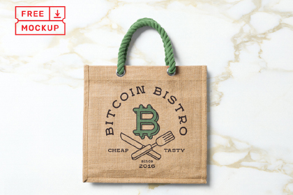 Tote Bag Free PSD Mockup