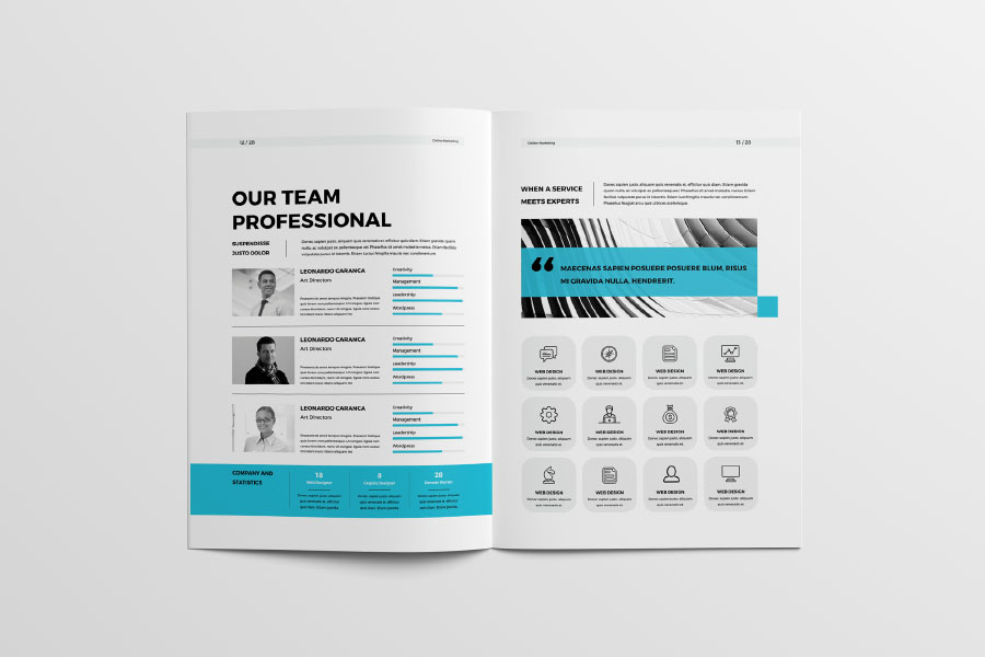 Free professional proposal template free design resources free professional proposal template maxwellsz