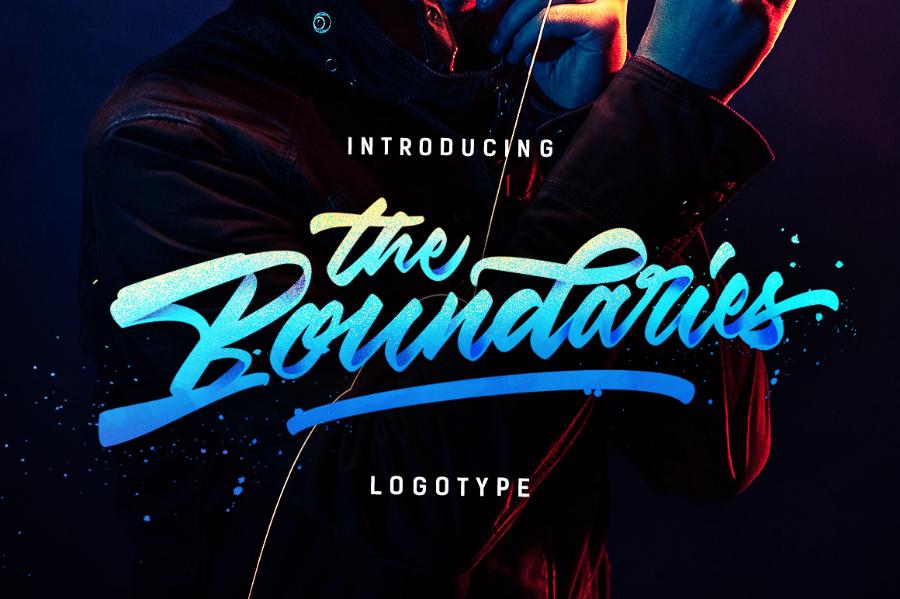 Boundaries Logotype Free Demo