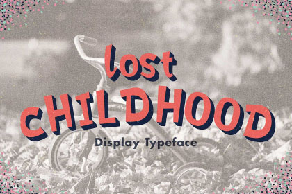 Lost Childhood Display Typeface
