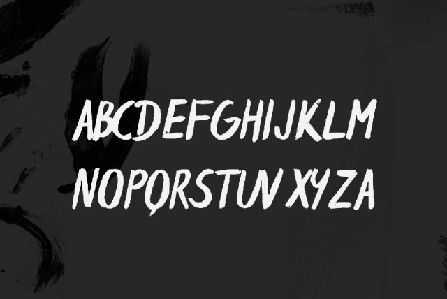 Espa Brush Free Typeface