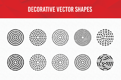 Decorative Vector Shapes Demo
