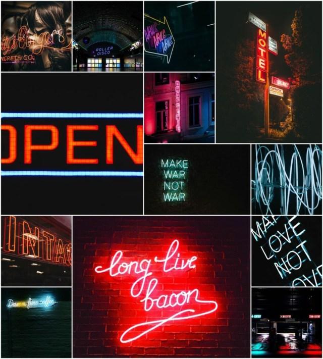 Free 40 Neon Photo Pack