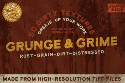 10 Grunge Grime Texture Sample