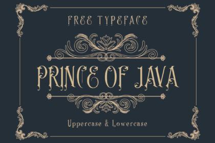 Java Free Typeface