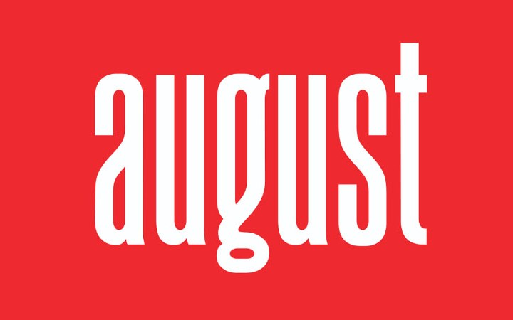 August Sans Free Version