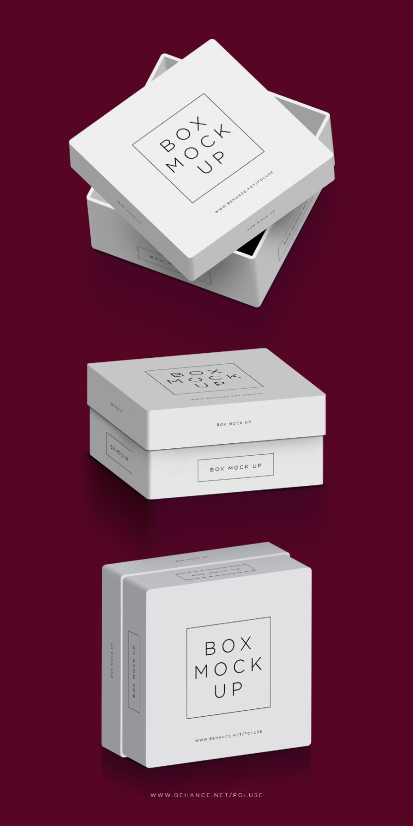 Free Psd Packaging Box Mockup Free Design Resources