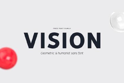 Vision Sans Free Font Family