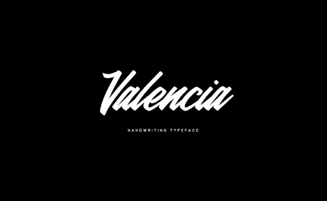 Valencia Calligraphy Free Typeface