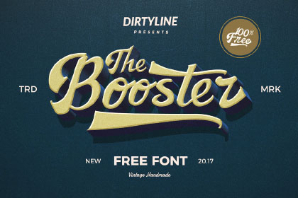 Booster Free Typeface