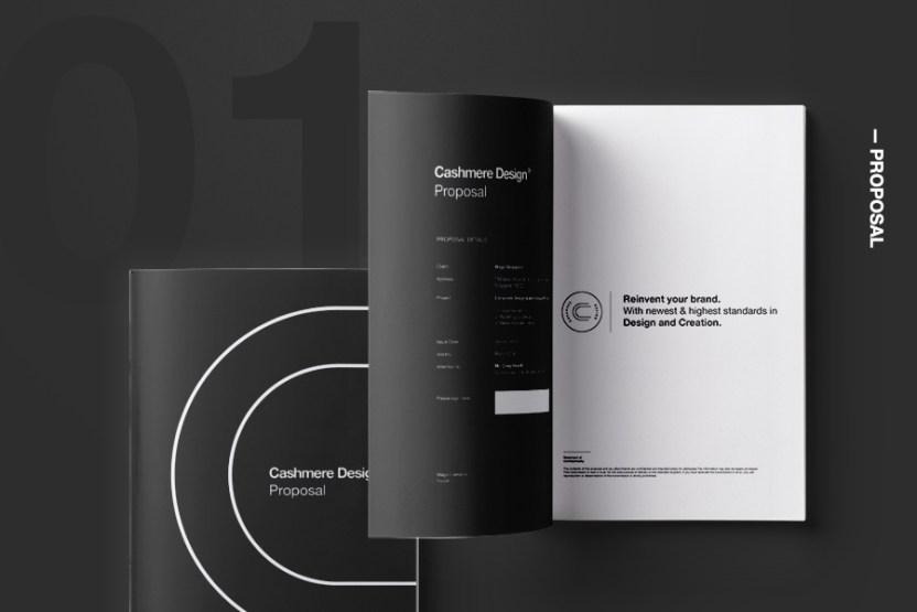cashmere design proposal mockup free design resources