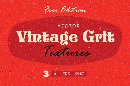 3 Free Vintage Grit Textures
