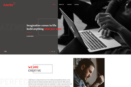 Free Agency Web Template