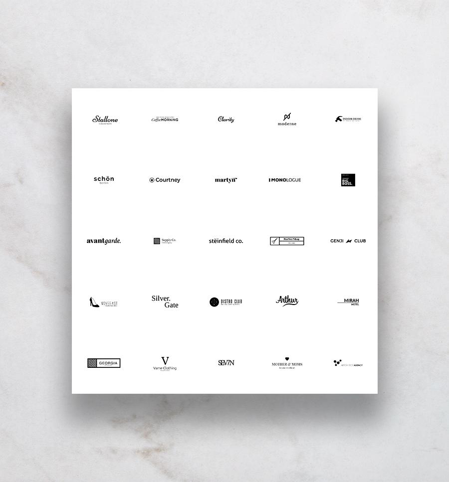 25 Free Vector Logo Template