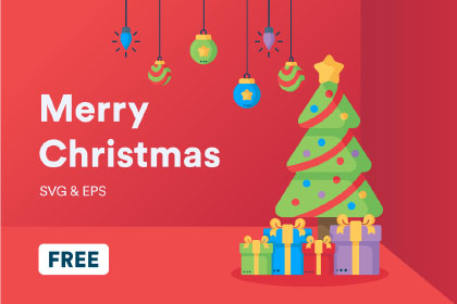 Free Vector Christmas Iconpack