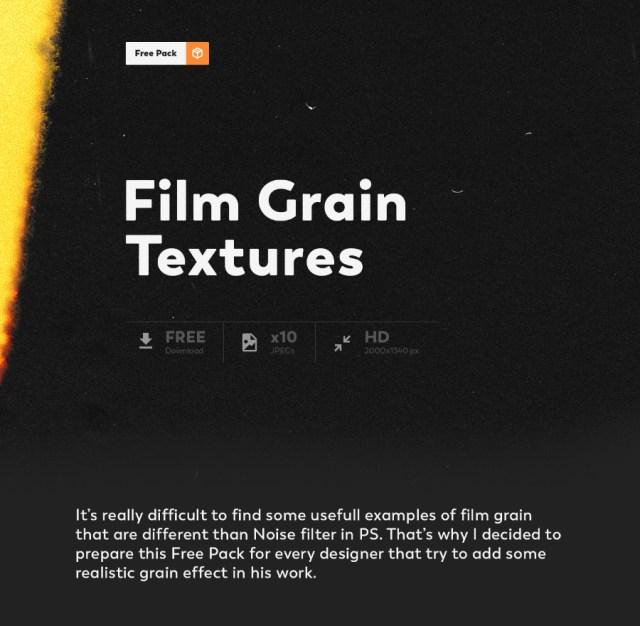 Free Film Grain Texture Pack