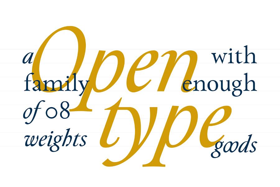 Paciencia Serif Free Font