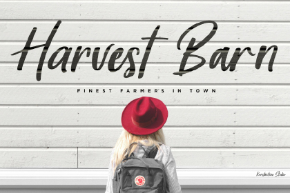 Harvest Barn Font Demo