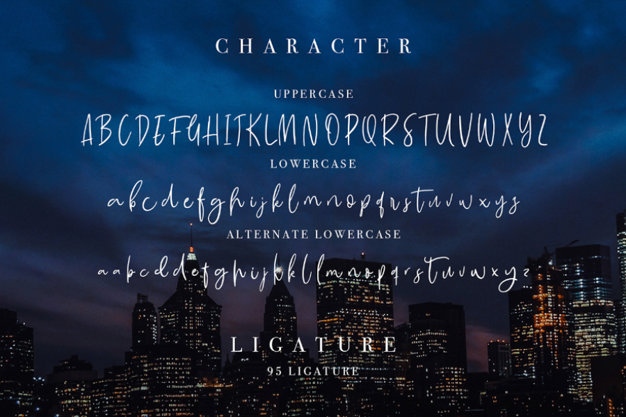 Madeleine Free Signature Font