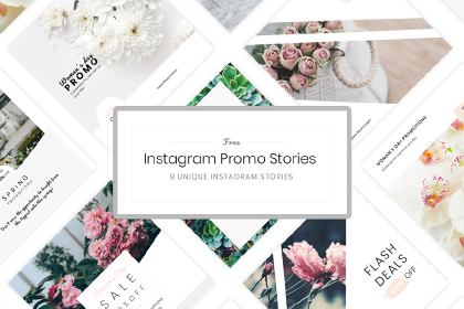 Free Instagram Promo Template