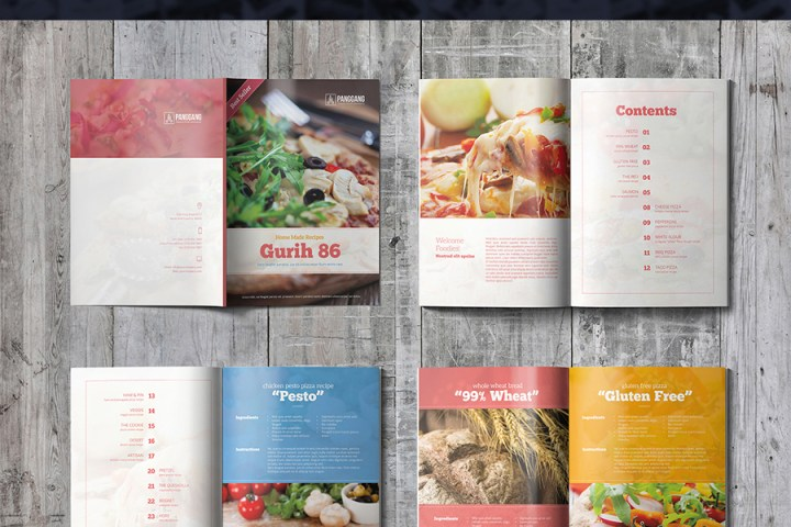 Gurih Cookbook Template