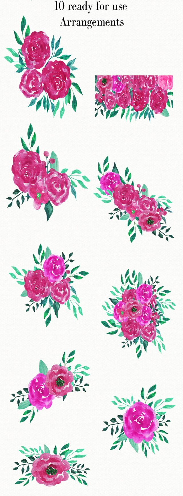 Free Pink Roses Cliparts