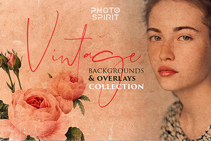 Free Vintage Backgrounds Overlays