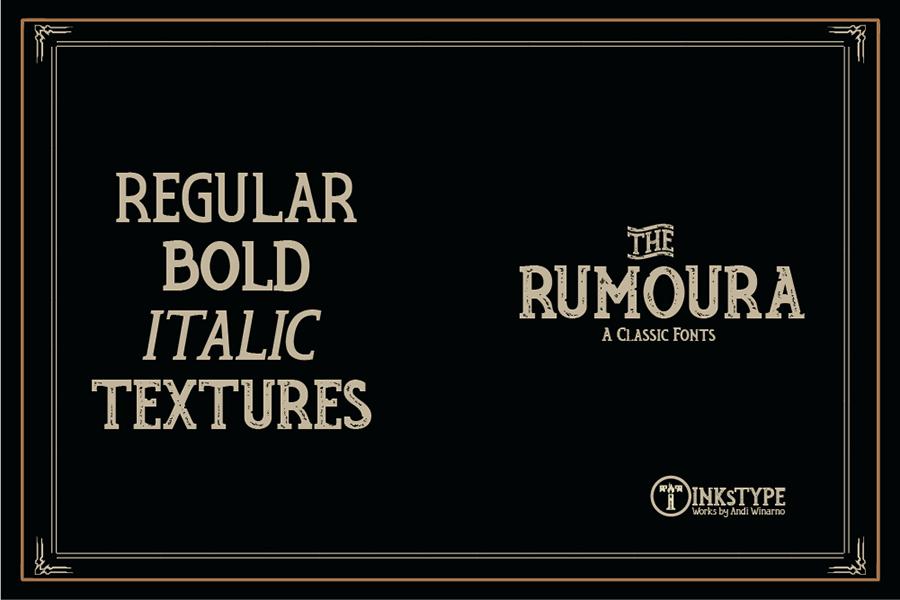 Rumoura Free Font Demo