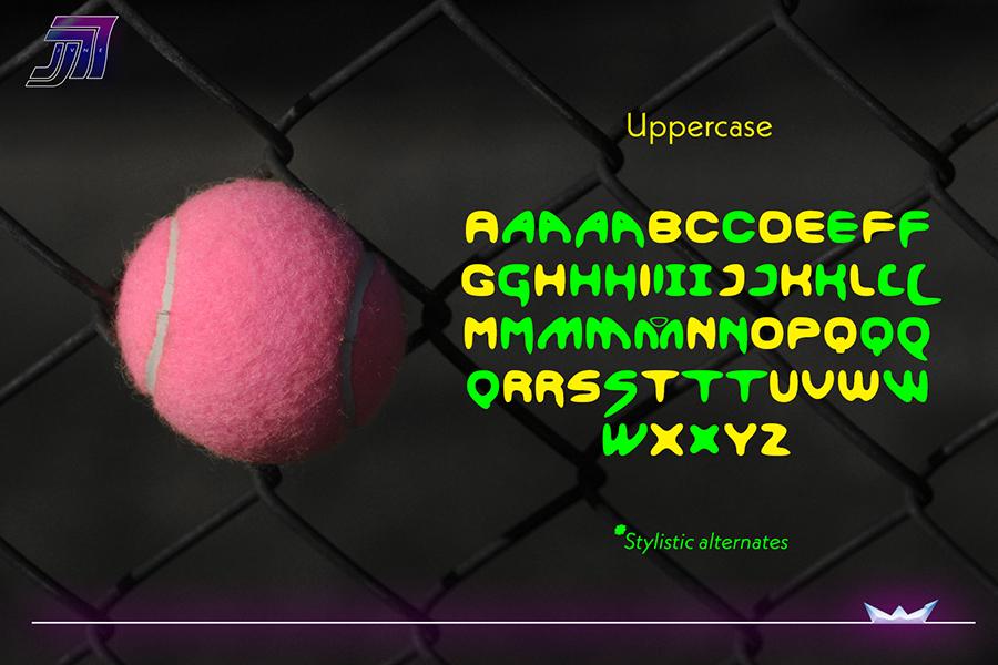 Smoothdron Free Display Font