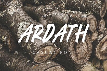 Ardath Free Casual Font