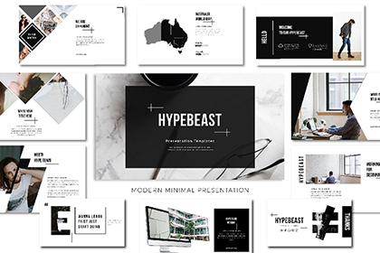 Hypebeast Free Presentation Template