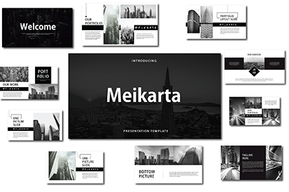 Meikarta Free PPT Templates