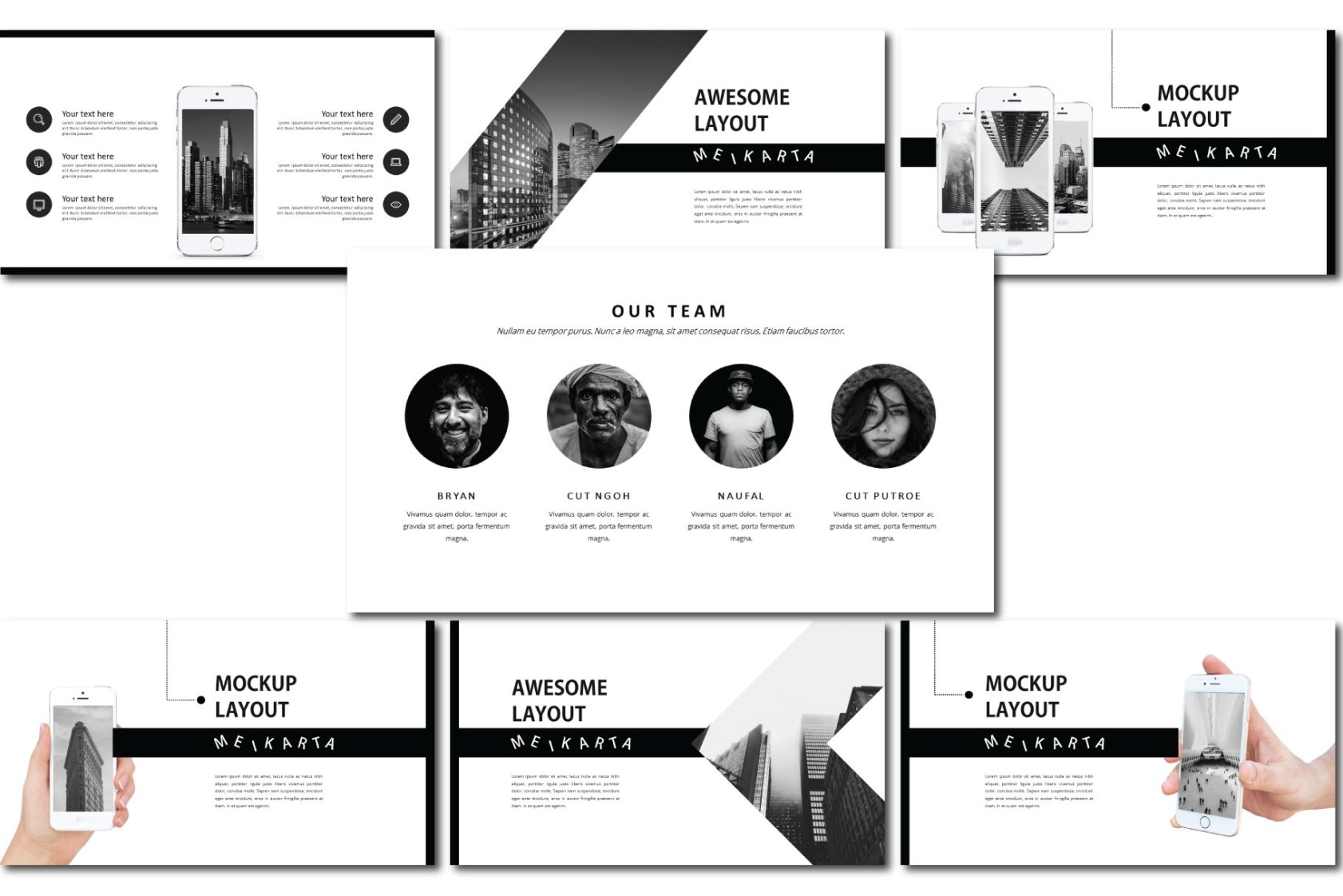 Meikarta Free Ppt Templates Free Design Resources