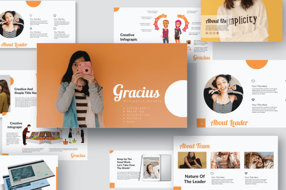 Gracius Illustration Presentation