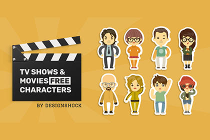 Free TV Vector Characters