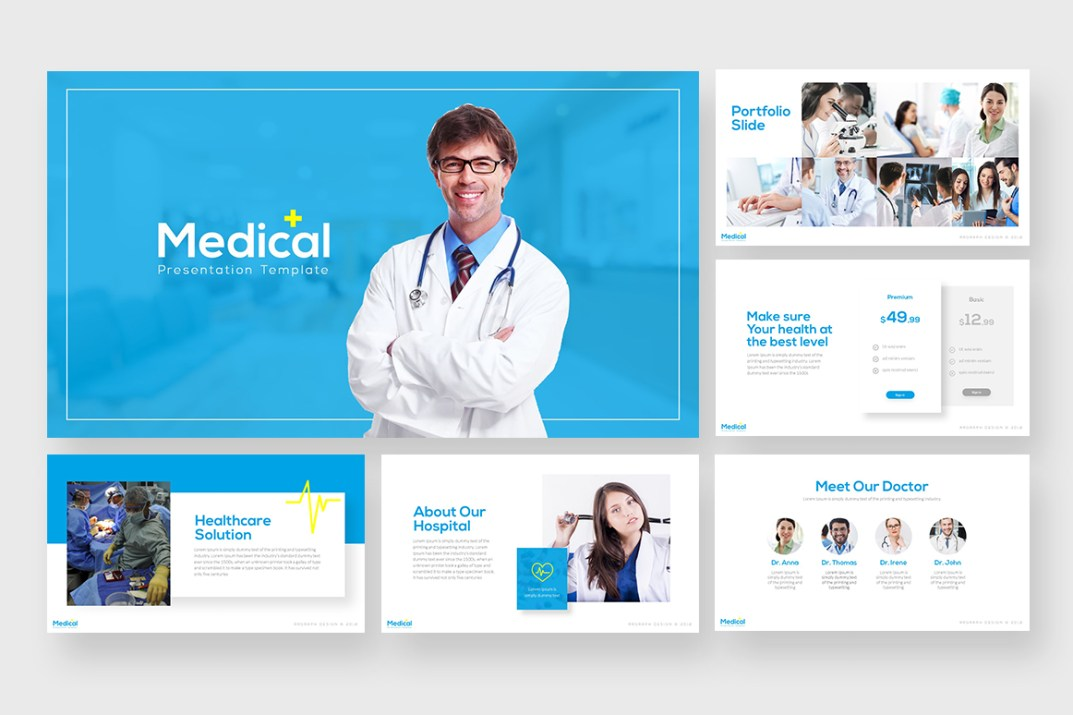 Medical Free Powerpoint Template Free Design Resources