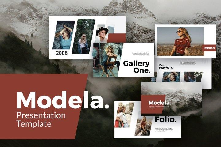 Modela Free Presentation Template