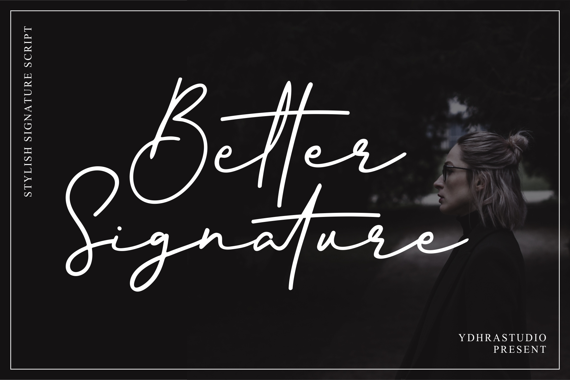Better Signature Font Demo