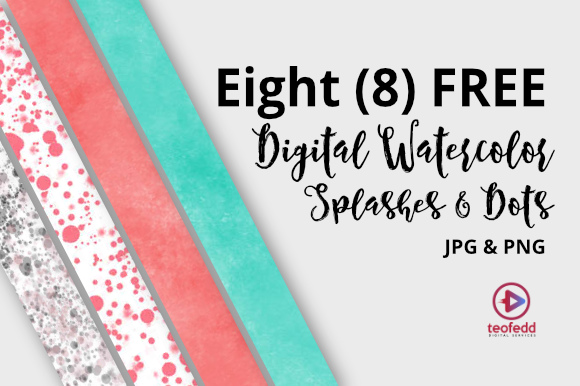 8 Free Watercolor Digital Papers