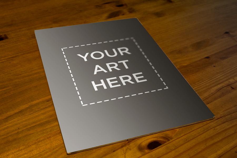 Free A3 Interior Poster Mockup