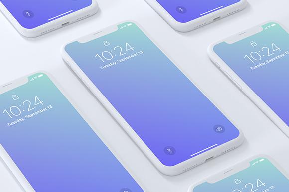Premium iPhone X Mockup