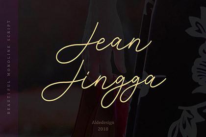 Jean Jingga Script Free Demo