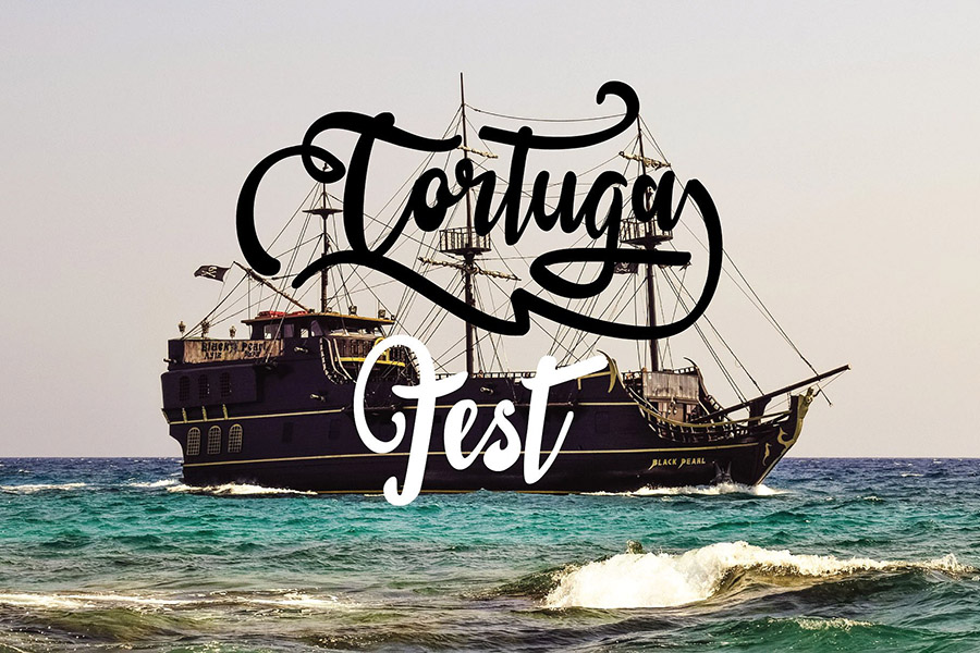 Sail Tortuga Script Font Demo