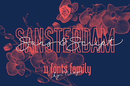 Sansterdams Free Font Demo
