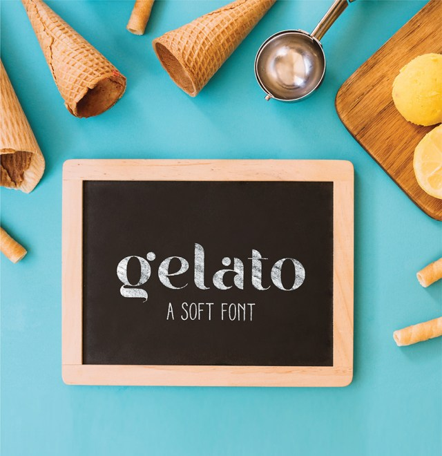 Gelato Soft Free Display Font
